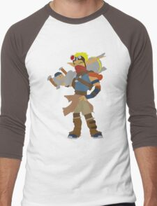 Jak 3-Jak Men's Baseball ¾ T-Shirt