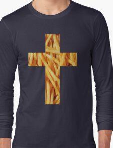 Fries - Cross Long Sleeve T-Shirt