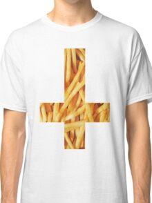 Fries - Inverted Cross Classic T-Shirt