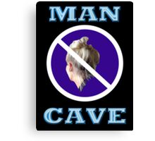 MAN CAVE Canvas Print