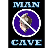 MAN CAVE Photographic Print