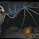 Dark Desert Night - Gather Bones album art by Brian Engh