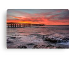 red dawn Canvas Print