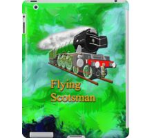 Flying Scotsman with Blinkers iPhone/iPad iPad Case/Skin
