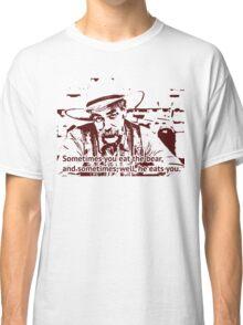 The cowboy in Big lebowski movie Classic T-Shirt