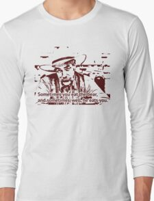 The cowboy in Big lebowski movie Long Sleeve T-Shirt