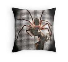 Life & Death on the Net Throw Pillow
