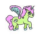 Cloudy Unicorn 3 by loandbehold
