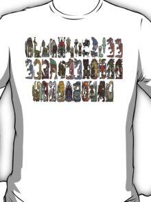 Monster Hunter Tri- Monster Emblems T-Shirt