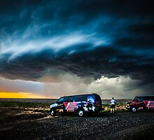 Storm Chasing in Kansas by CaptiveMotion