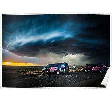 Storm Chasing in Kansas Poster