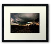 Storm Chasing in Texas Framed Print