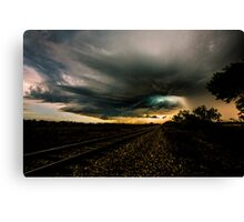 Storm Chasing in Texas Canvas Print