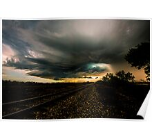Storm Chasing in Texas Poster