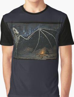 Dark Desert Night - Gather Bones album art Graphic T-Shirt