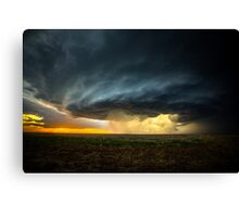 Storm Chasing in Kansas Canvas Print