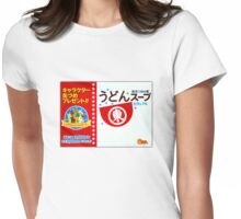 Udon Soup! Womens Fitted T-Shirt