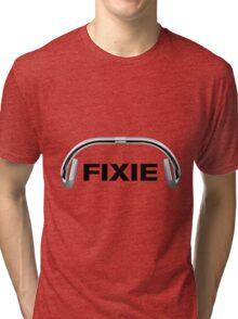 Classic Track Handlebars - FIXIE Tri-blend T-Shirt