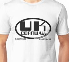 uk cornwall by rogers bros Unisex T-Shirt