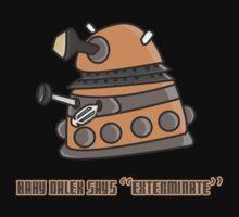 Baby Dalek says Exterminate Baby Tee