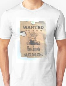 Vash The Stampede Wanted T-Shirt