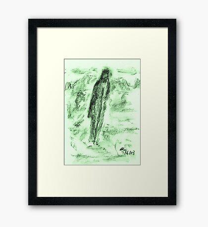 The Pilgrim Framed Print