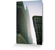 pbbyc - Empire State 35mm Greeting Card