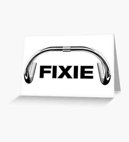 Classic Track Handlebar - FIXIE XL Greeting Card