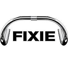 Classic Track Handlebar - FIXIE XL Photographic Print