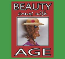 BEAUTY COMES WITH AGE One Piece - Short Sleeve