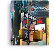 Signs and Advertising Metal Print