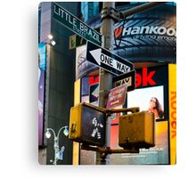 Signs and Advertising Canvas Print