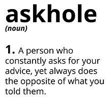 Askhole  by galaxysalvo