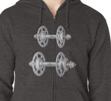 Campagnolo Record Pista Track Hubs Zipped Hoodie