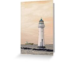 Pastel Seascape Greeting Card