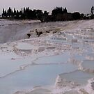 Cotton Castles ~ Pamukkale, Turkey by Judi Corrigan