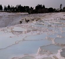 Cotton Castles ~ Pamukkale, Turkey by Judi Corrigan