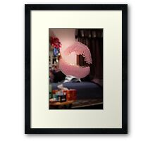 ☀ ツSEALED WITH A KISS LOL HA☀ ツ Framed Print