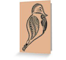 Journey Bird Rest Greeting Card