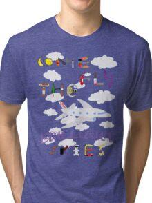 The BRILLIANT Skies Tri-blend T-Shirt