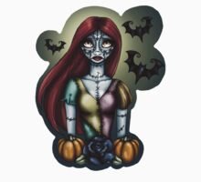Day of the Dead Sally Nightmare Before Christmas by HungryDesigns