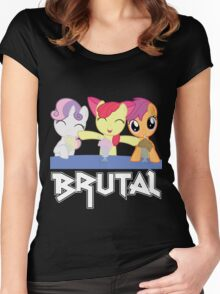 Brutality Women's Fitted Scoop T-Shirt