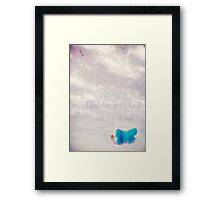 come live in my heart Framed Print