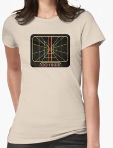 Stay on target 1977 Womens Fitted T-Shirt