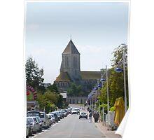 Ouistreham Church Poster