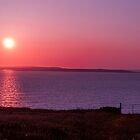 Aran Islands Sunset by Gary  Collins