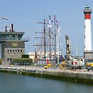 Another view of Ouistreham, the port town of Caen. by GregoryE
