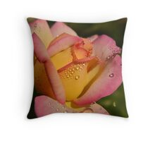 We all love you, Rose Throw Pillow