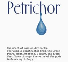 The meaning behind Petrichor Baby Tee