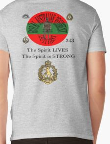 The Spirit is Strong Mens V-Neck T-Shirt
